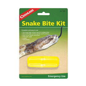 Coghlans Snakebite rescue set without antiseptic yellow/grey